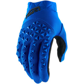 100% Airmatic Guantes, blue/black